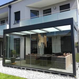 Cara Bauunternehmen Sonnenschutzsysteme und Wintergarten